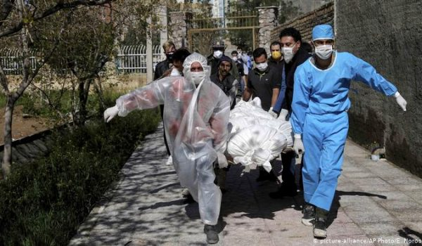 مرگ ناشی از کرونا - بیمارستان